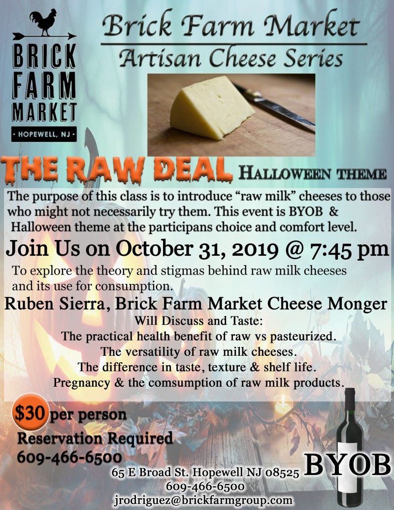 Cheese Class - The Raw Deal
