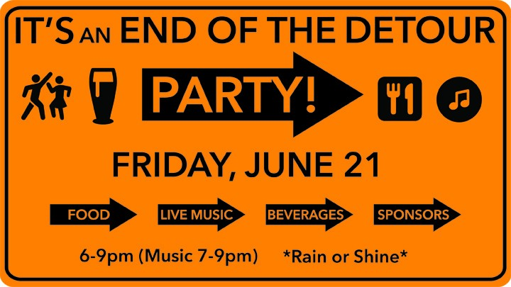 IT'S AN END OF THE DETOUR PARTY